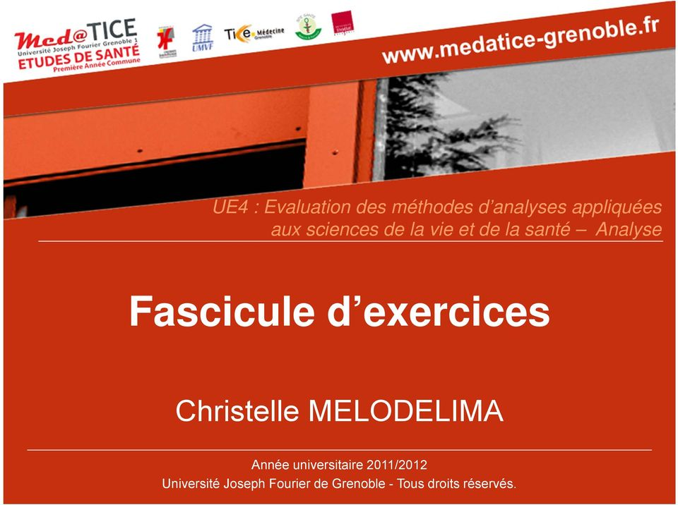 exercices Christelle MELODELIMA Année universitaire