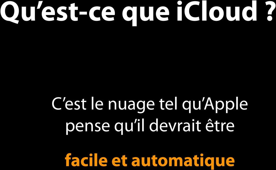 Apple pense qu il