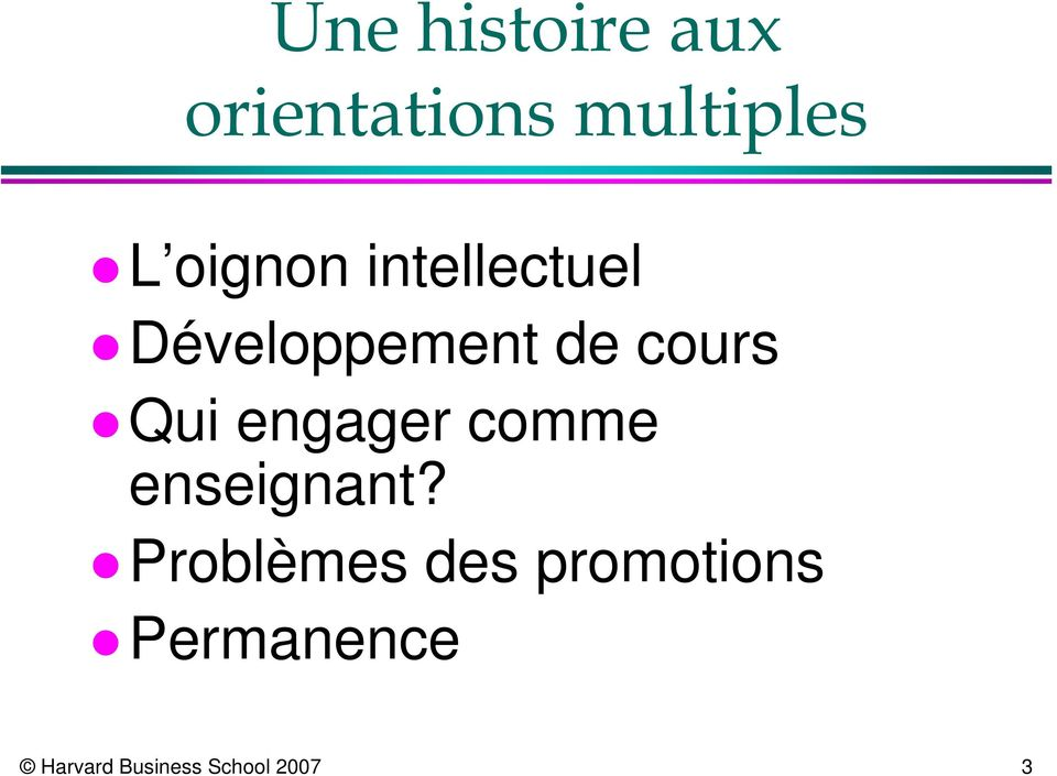 Qui engager comme enseignant?
