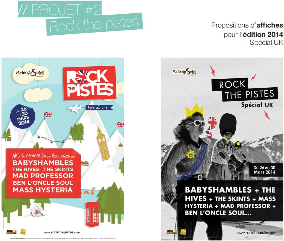 com babyshambles + the hives + the skints + mass hysteria + mad professor + ben l oncle soul... www.rockthepistes.