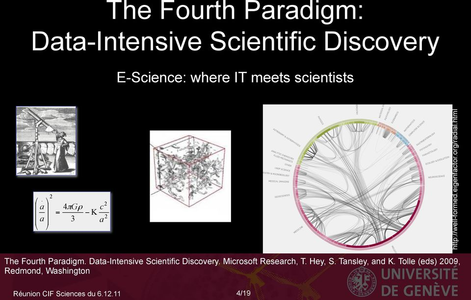 html The Fourth Paradigm. Data-Intensive Scientific Discovery. Microsoft Research, T.