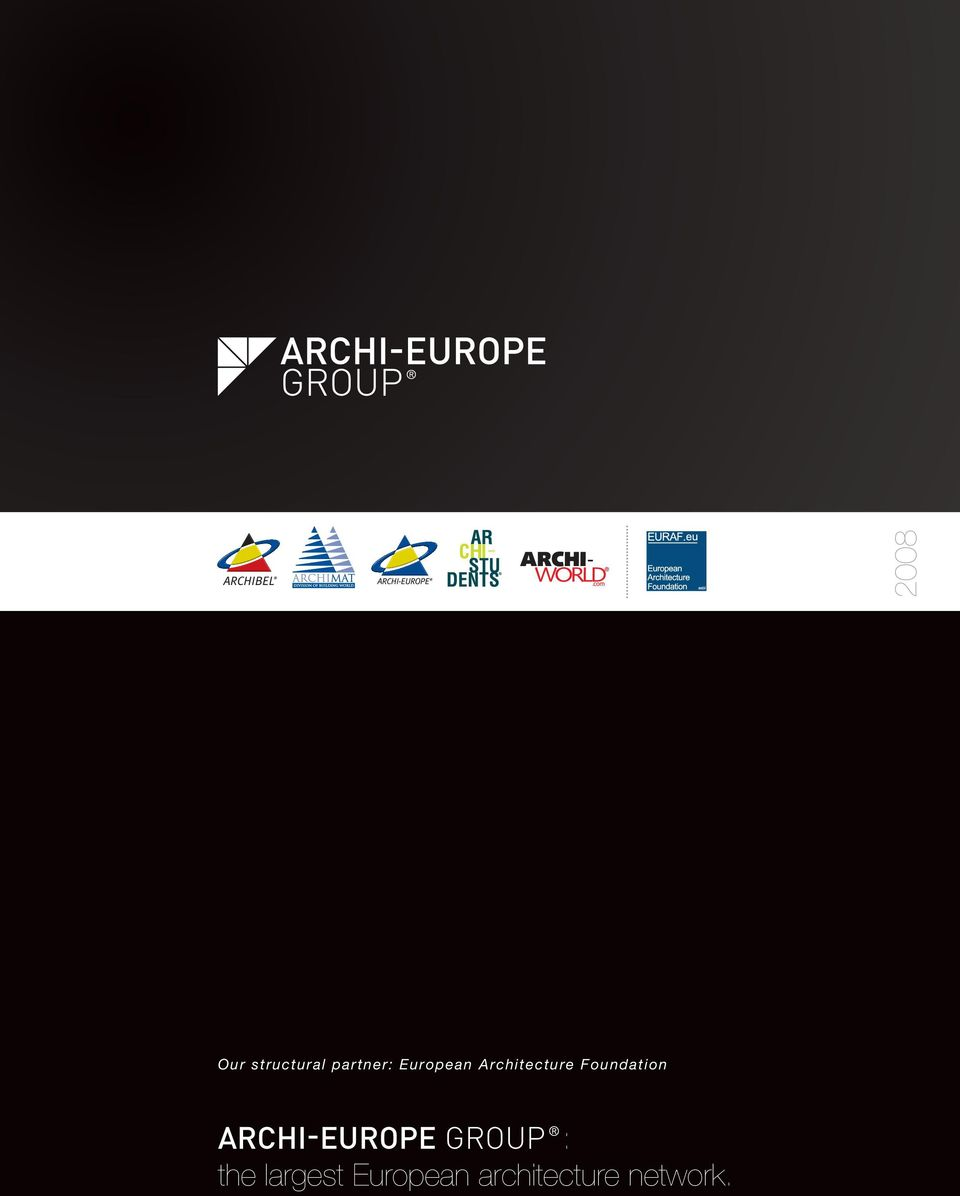 Foundation Archi-Europe Group :