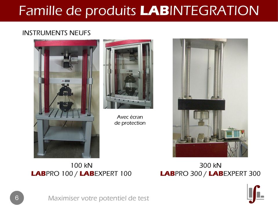 protection 100 kn LABPRO 100 /