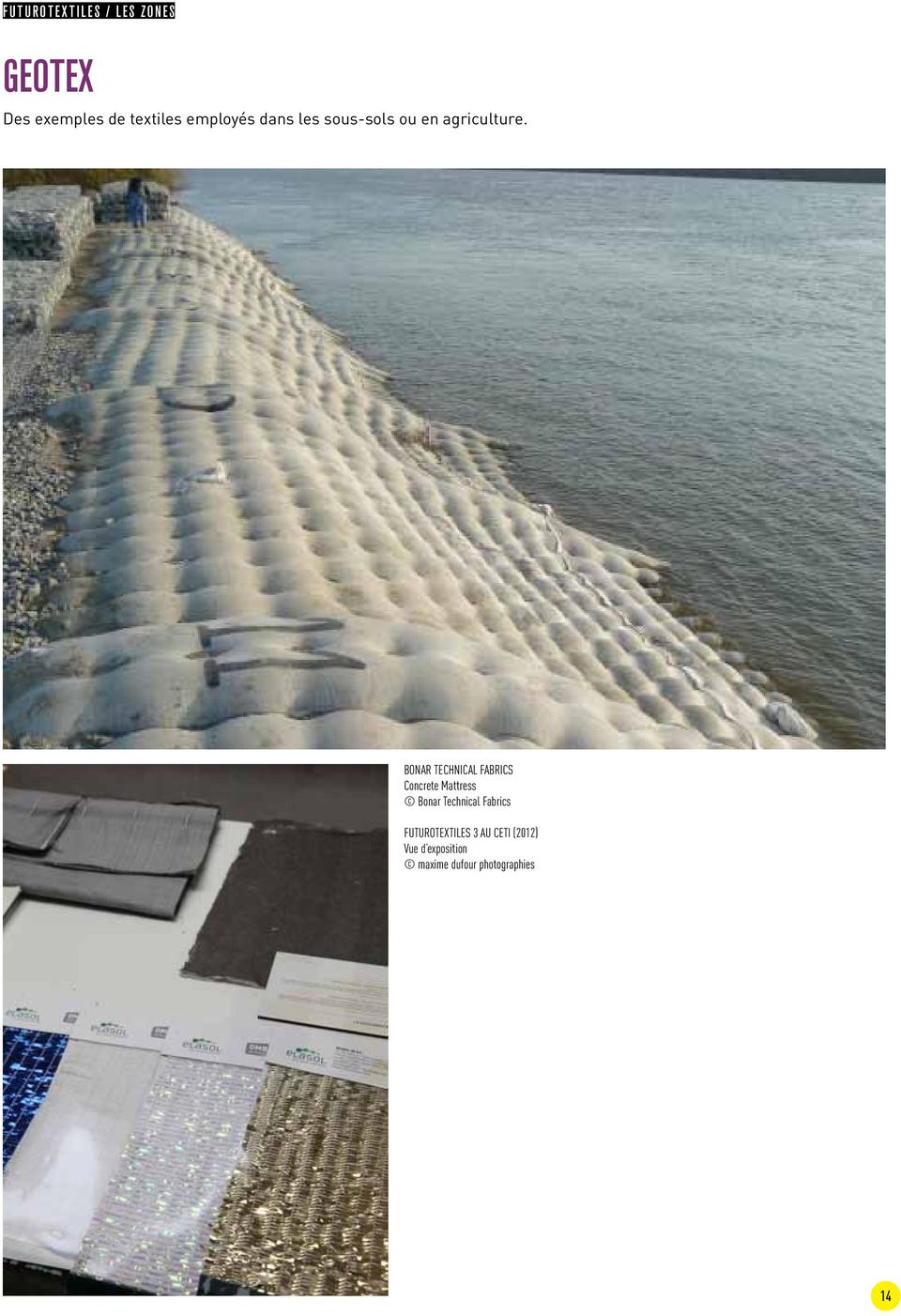 Bonar Technical Fabrics Concrete Mattress Bonar Technical
