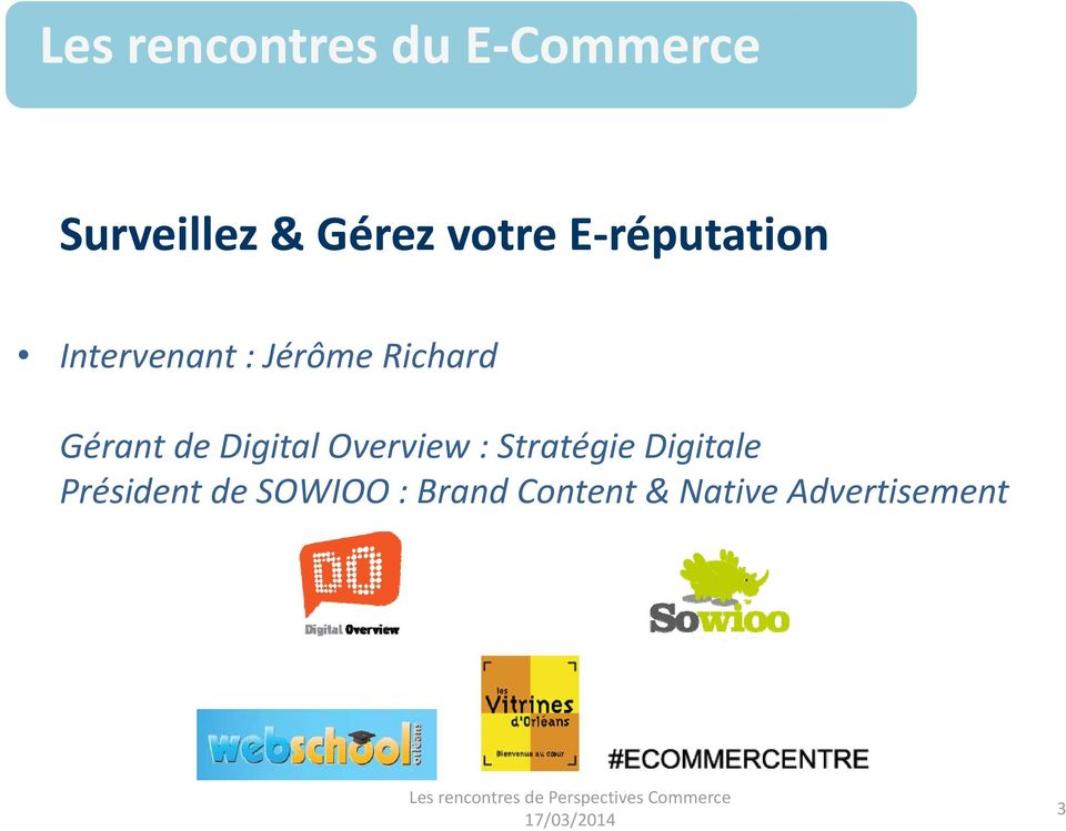 Digital Overview : Stratégie Digitale