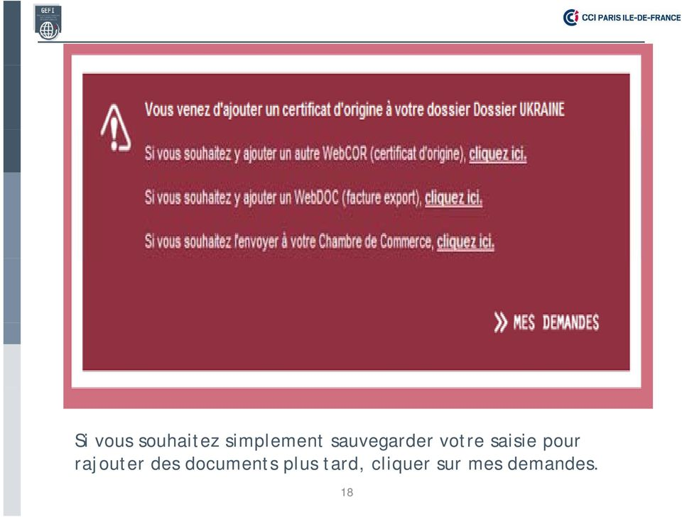 rajouter des documents plus