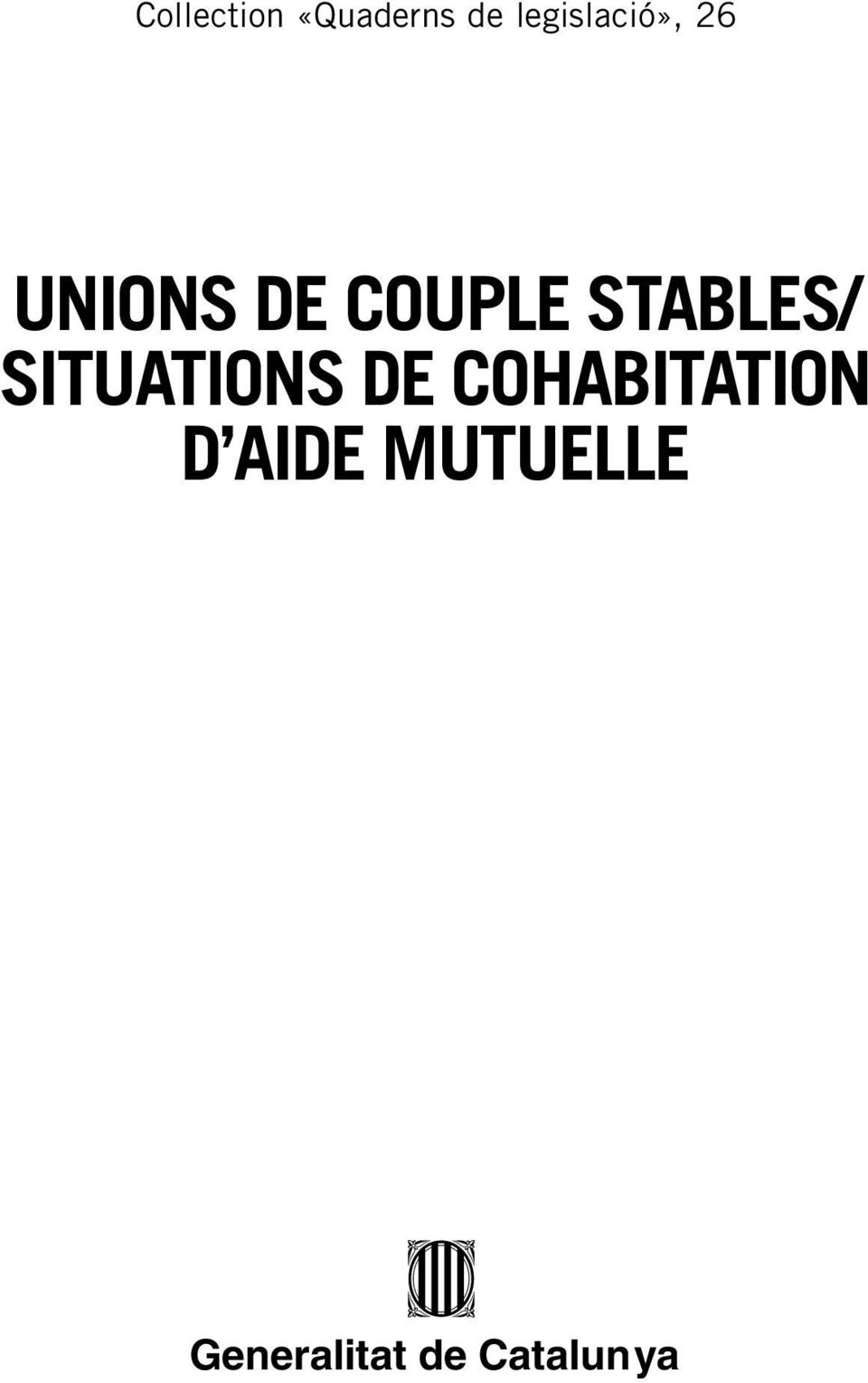 STABLES/ SITUATIONS DE