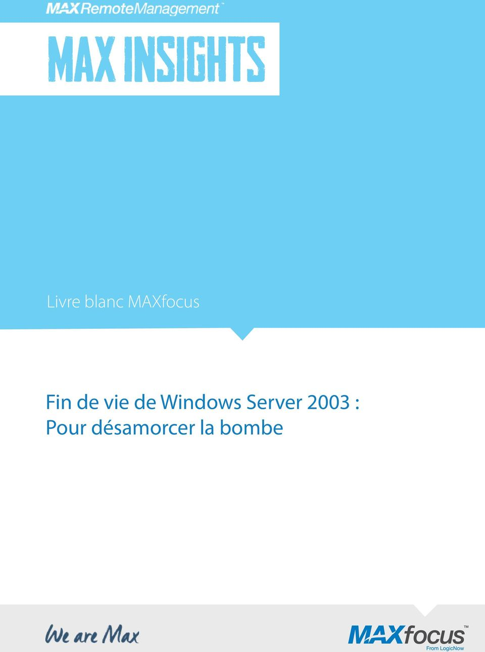 vie de Windows Server