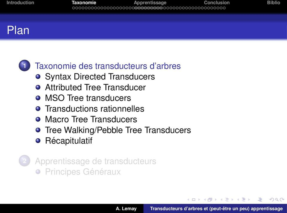 Transductions rationnelles Macro Tree Transducers Tree