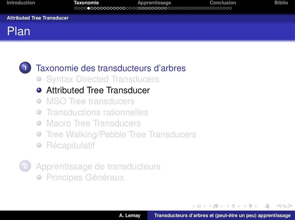 transducers Transductions rationnelles Macro Tree Transducers Tree