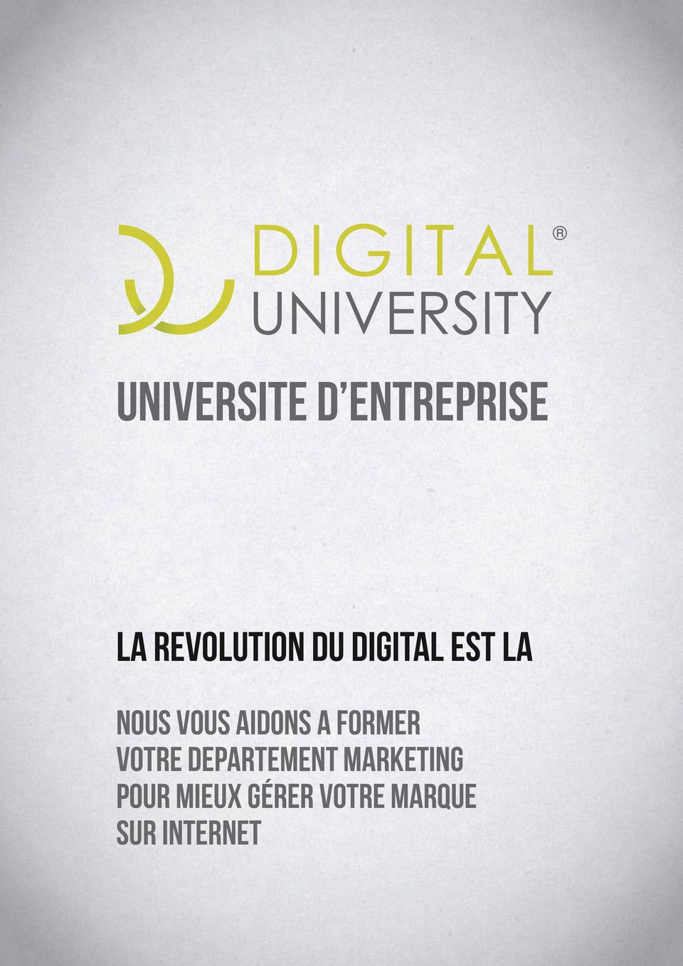FORMER VOTRE DEPARTEMENT MARKETING