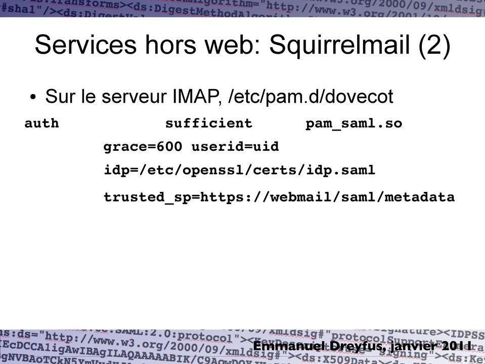 d/dovecot auth sufficient pam_saml.