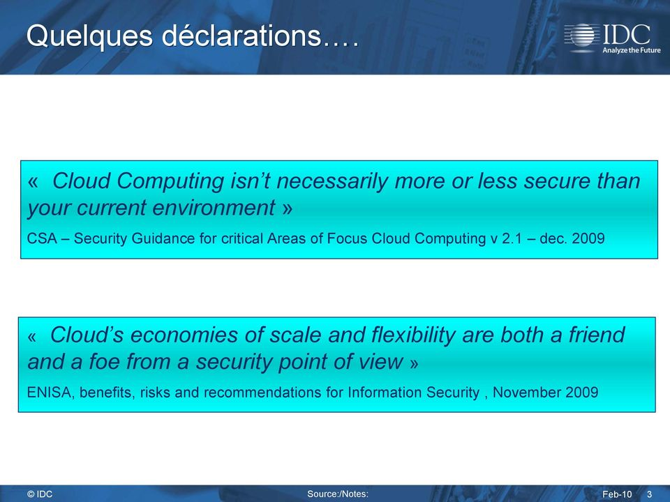 Guidance for critical Areas of Focus Cloud Computing v 2.1 dec.