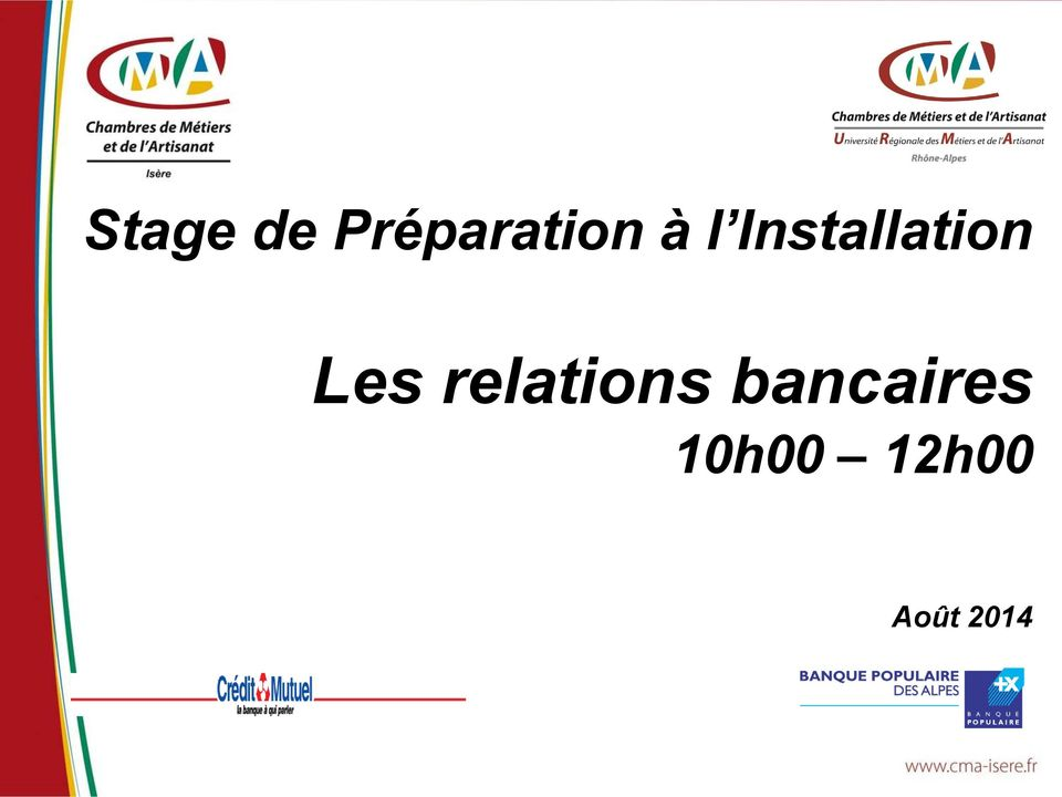 relations bancaires