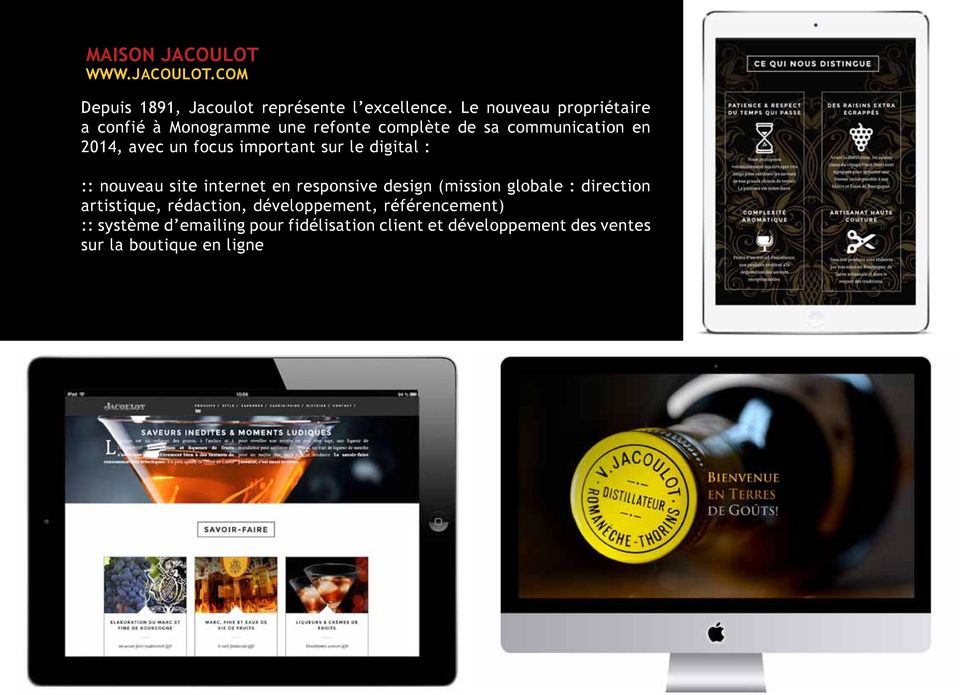 important sur le digital : :: nouveau site internet en responsive design (mission globale : direction