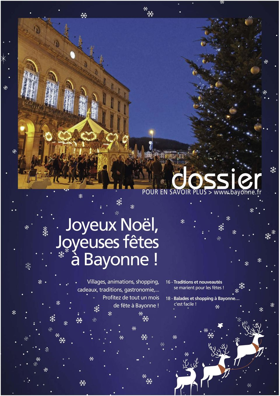Villages, animations, shopping, cadeaux, traditions, gastronomie,.