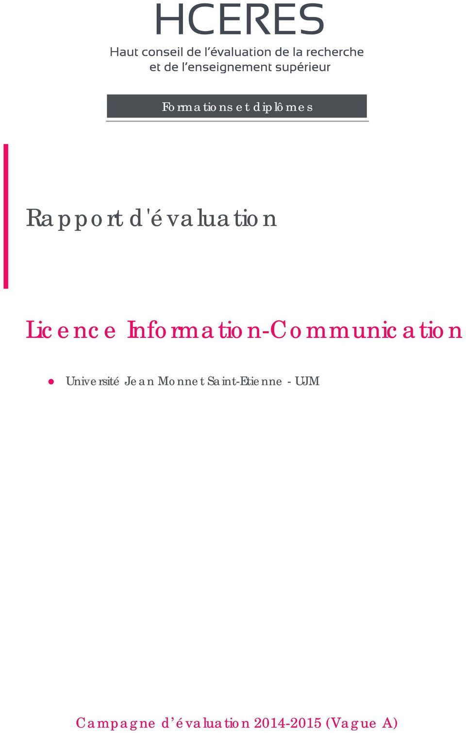 Information-Communication Université