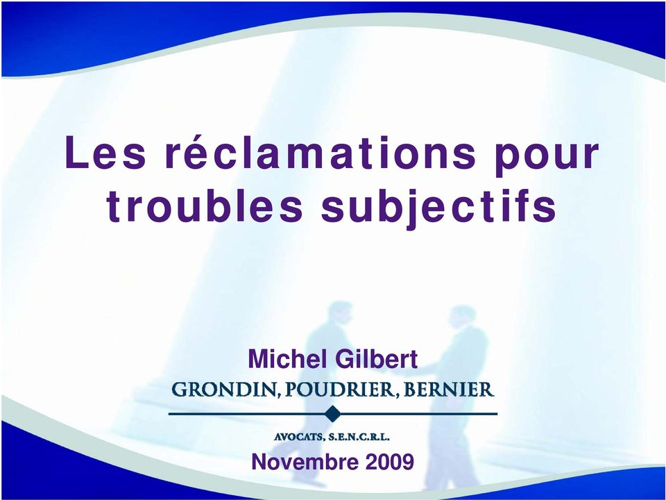 subjectifs Michel