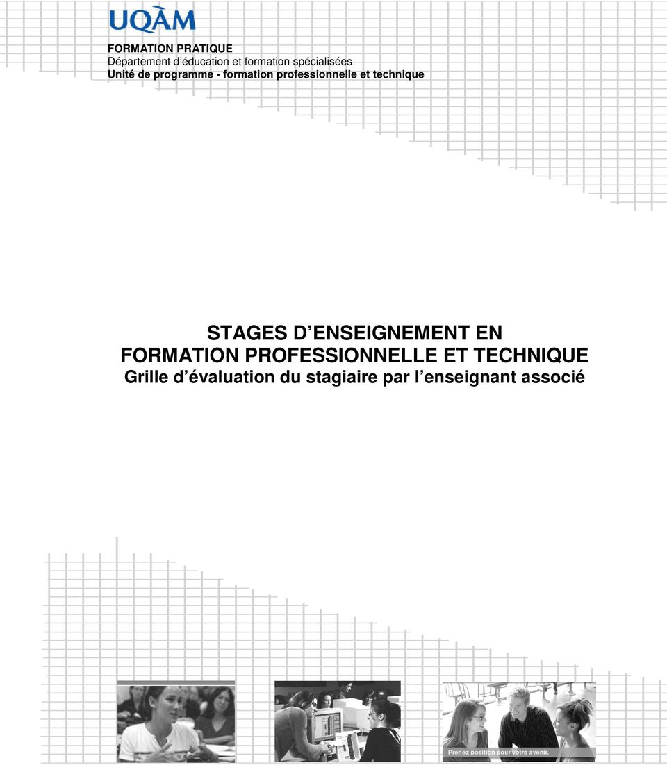 technique STAGES D ENSEIGNEMENT EN FORMATION PROFESSIONNELLE