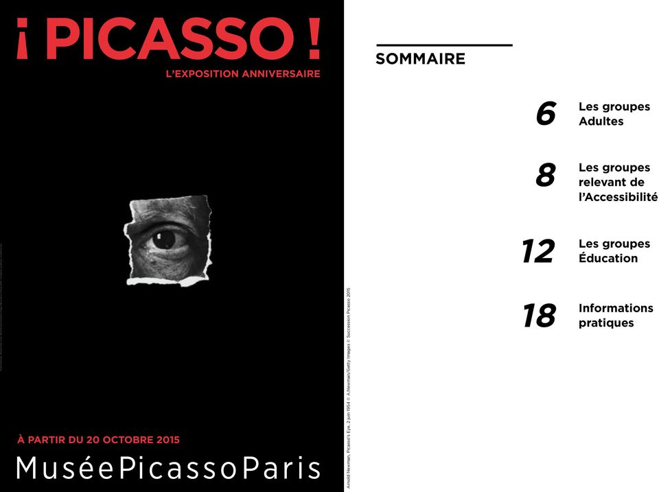 Newman/Getty Images Succession Picasso 2015 - Conception graphique : studiolwa.