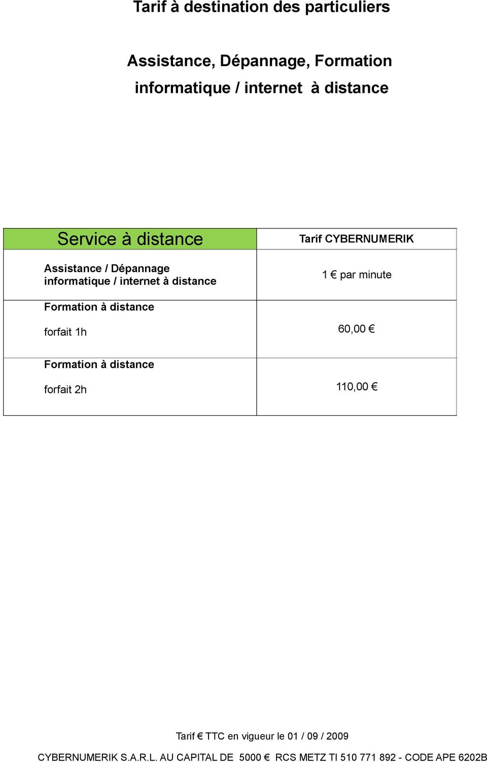 Assistance / Dépannage informatique / internet à distance 1 par