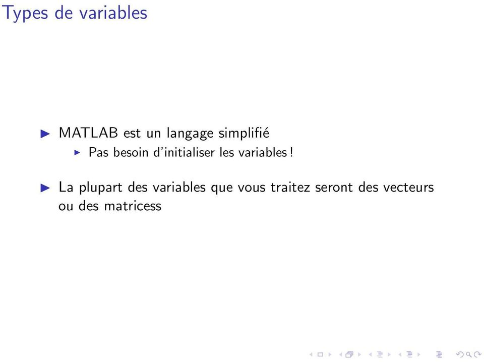 variables!