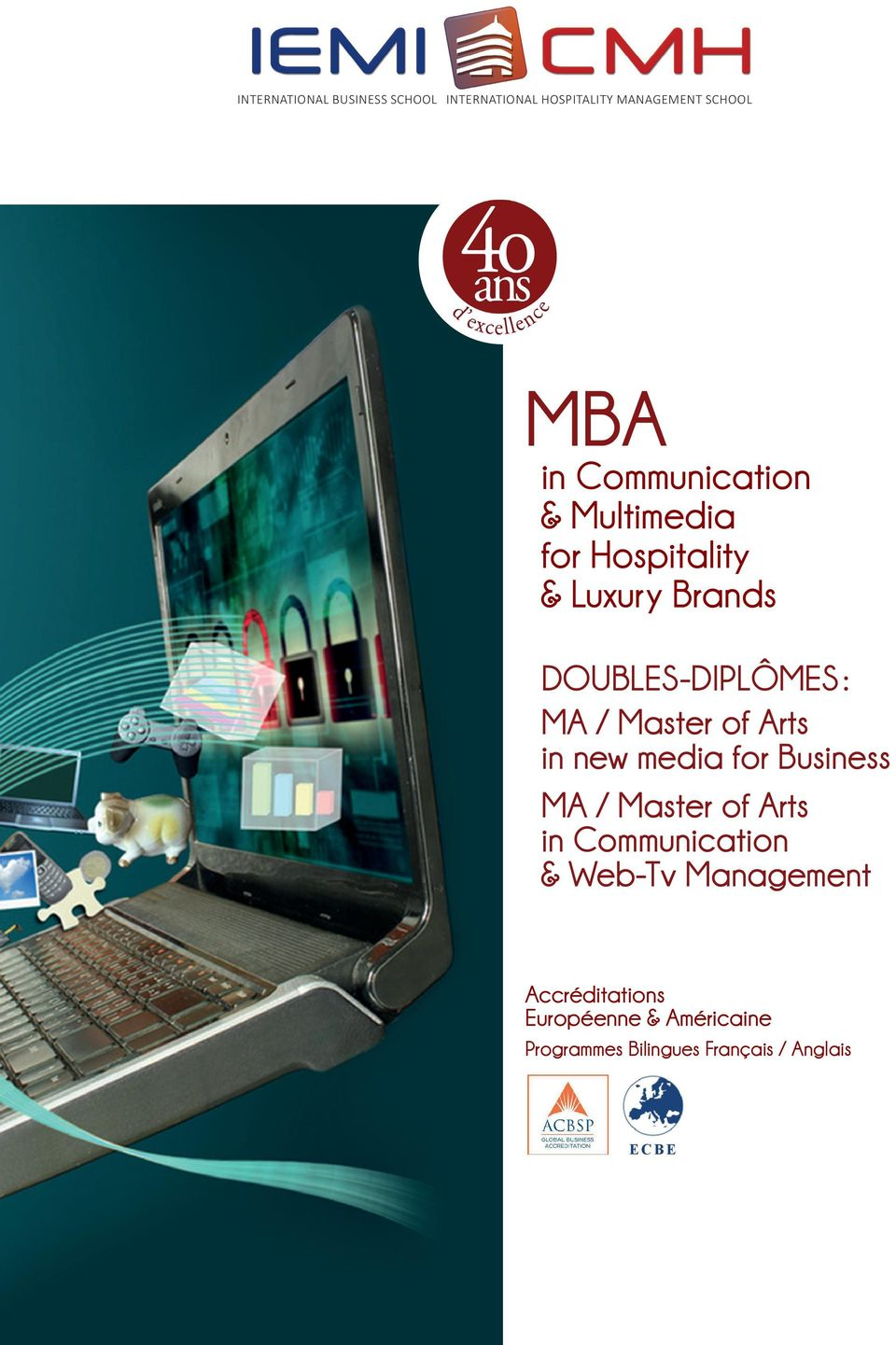 Master of Arts in new media for Business MA / Master of Arts in Communication & Web-Tv