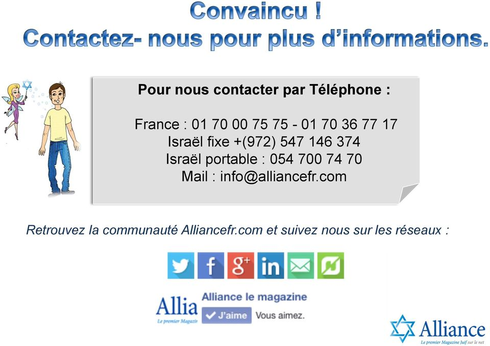 portable : 054 700 74 70 Mail : info@alliancefr.