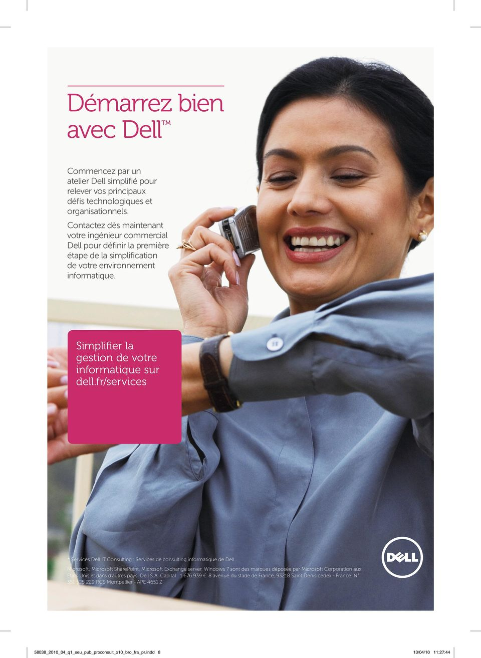 fr/services * Services Dell IT Consulting : Services de consulting informatique de Dell.