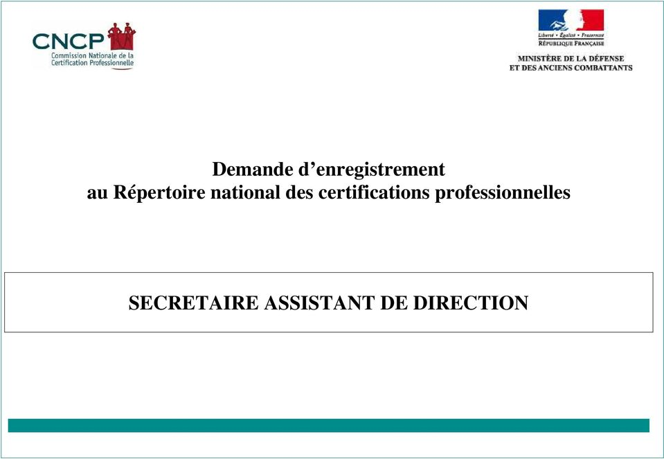 des certifications s