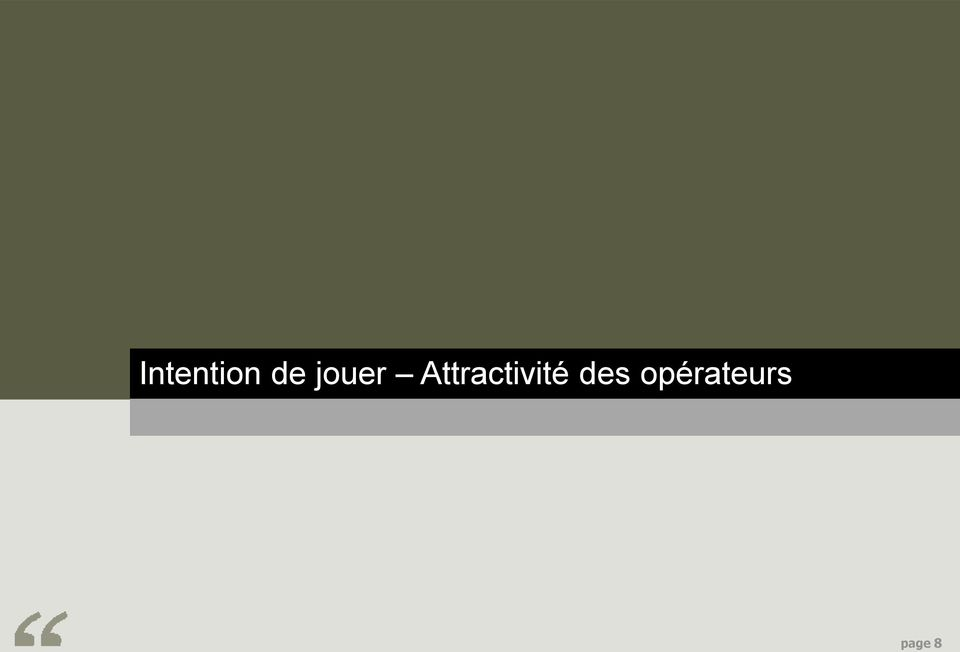 Attractivité