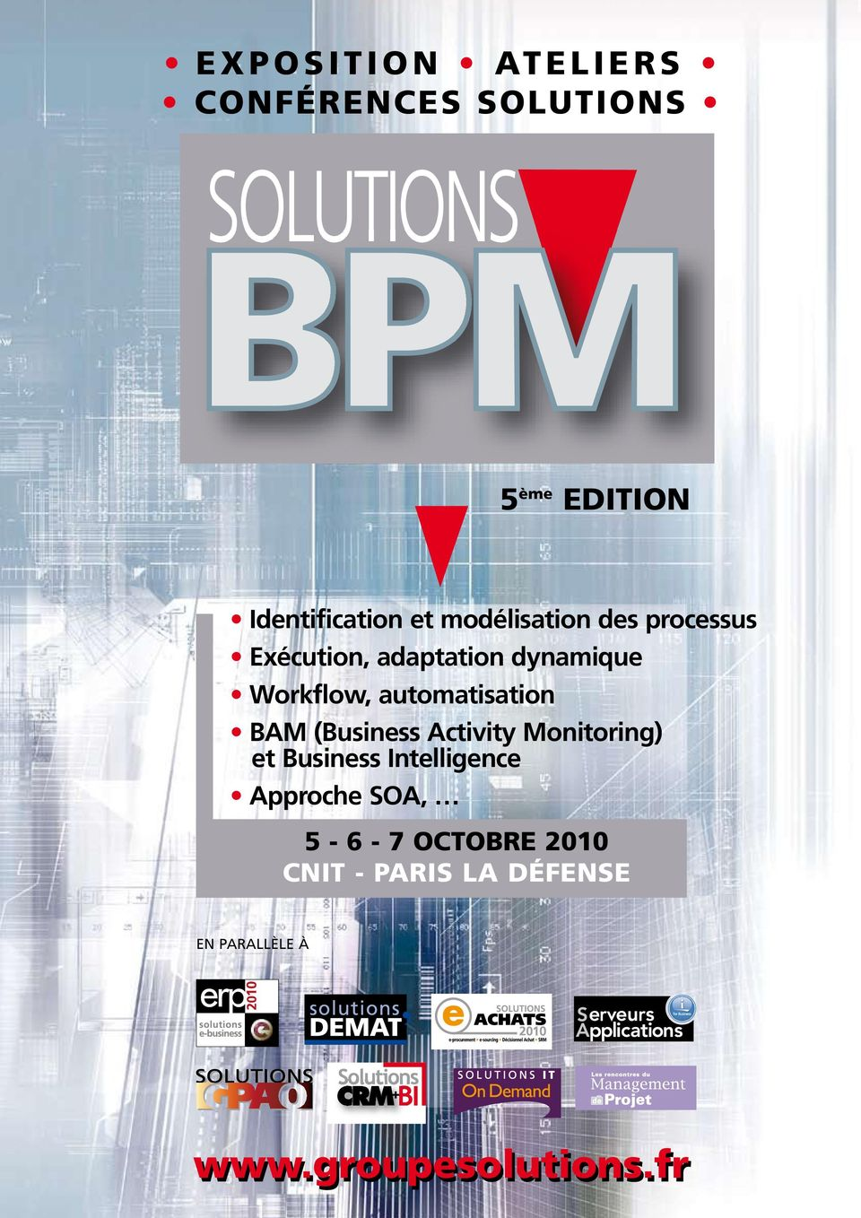 automatisation BAM (Business Activity Monitoring) et Business Intelligence