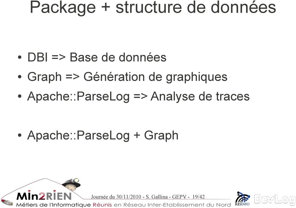 Apache::ParseLog => Analyse de traces