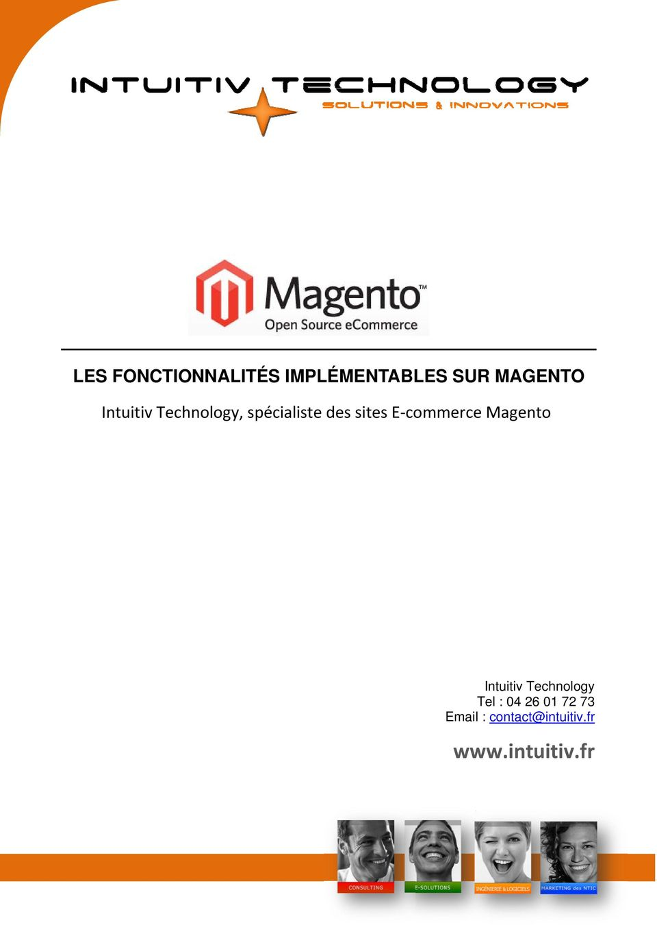 commercee Magento Intuitiv Technology Tel : 04
