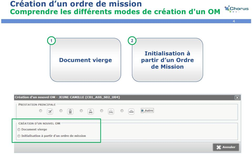 2 Document vierge