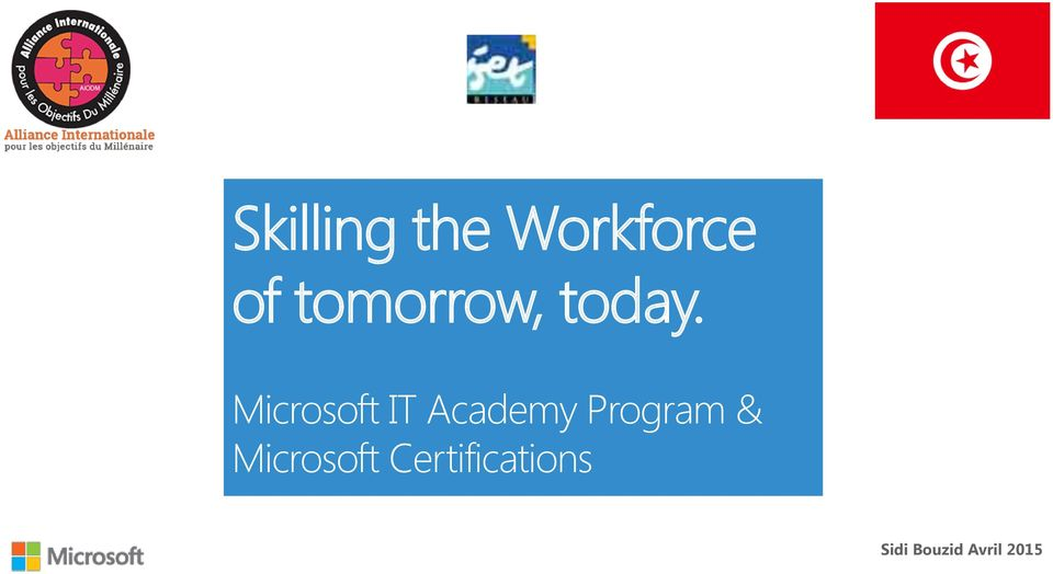 Microsoft IT Academy Program &
