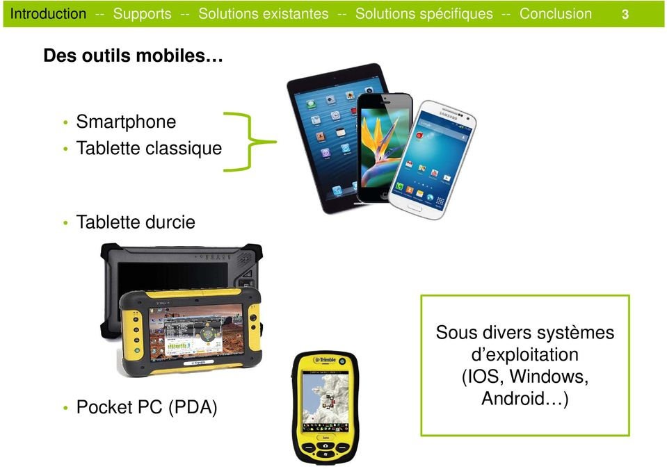 Pocket PC (PDA) Sous divers