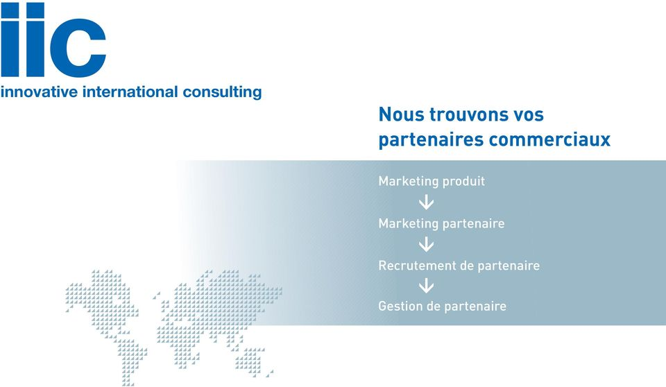 Marketing produit Marketing partenaire
