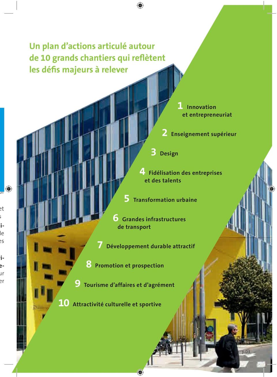 Fidélisation ds ntrpriss t ds talnts Transformation urbain Grands infrastructurs d transport