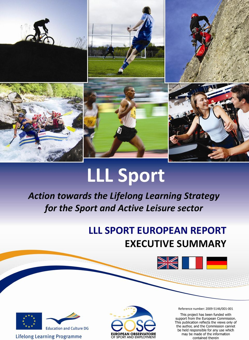 Leisure sector LLL SPORT EUROPEAN REPORT