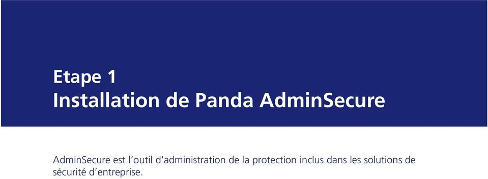 d'administration de la protection