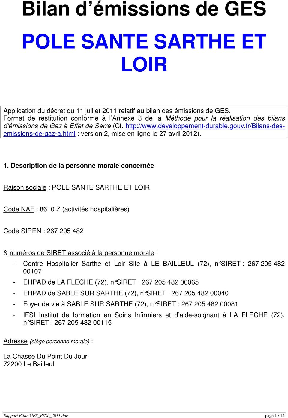 html : version 2, mise en ligne le 27 avril 2012). 1.