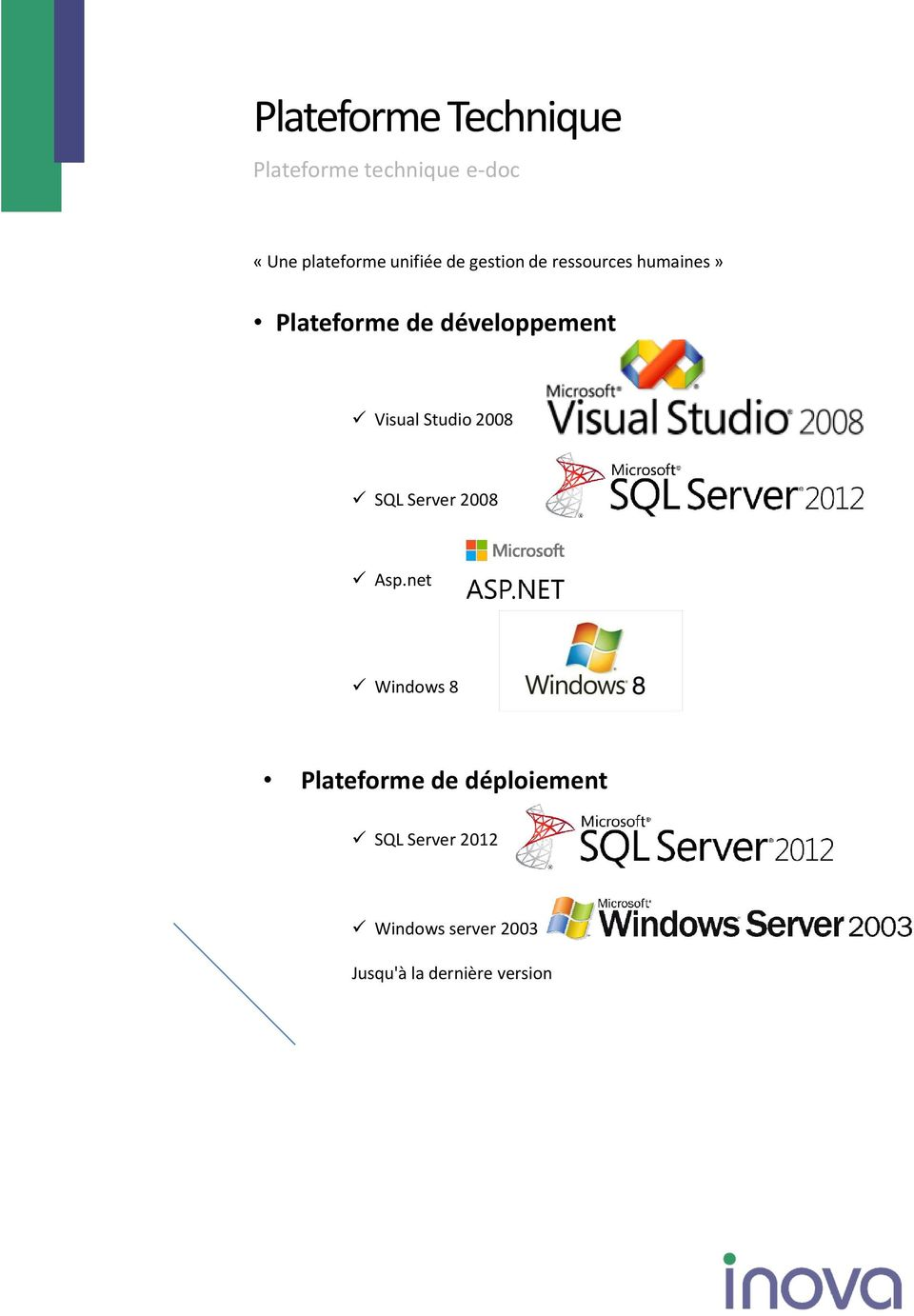 développement Visual Studio 2008 SQL Server 2008 Asp.