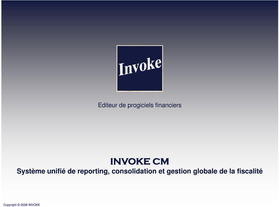 unifié de reporting,