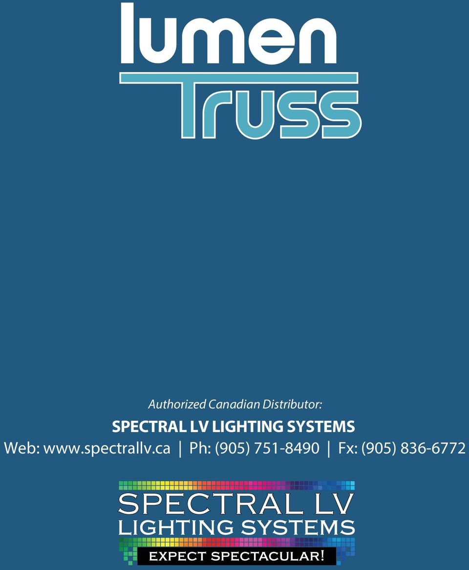 LIGHTING SYSTEMS Web: www.