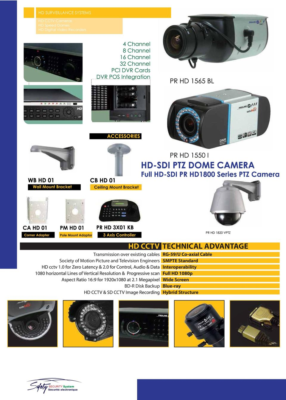 Picture and Television Engineers HD CCTV TECHNICAL ADVANTAGE SMPTE