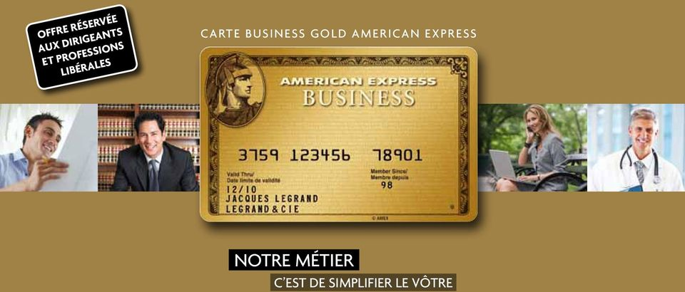 business Gold american express
