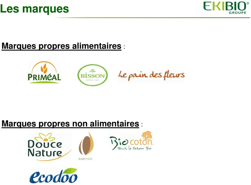 alimentaires :