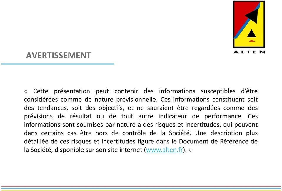indicateur de performance.
