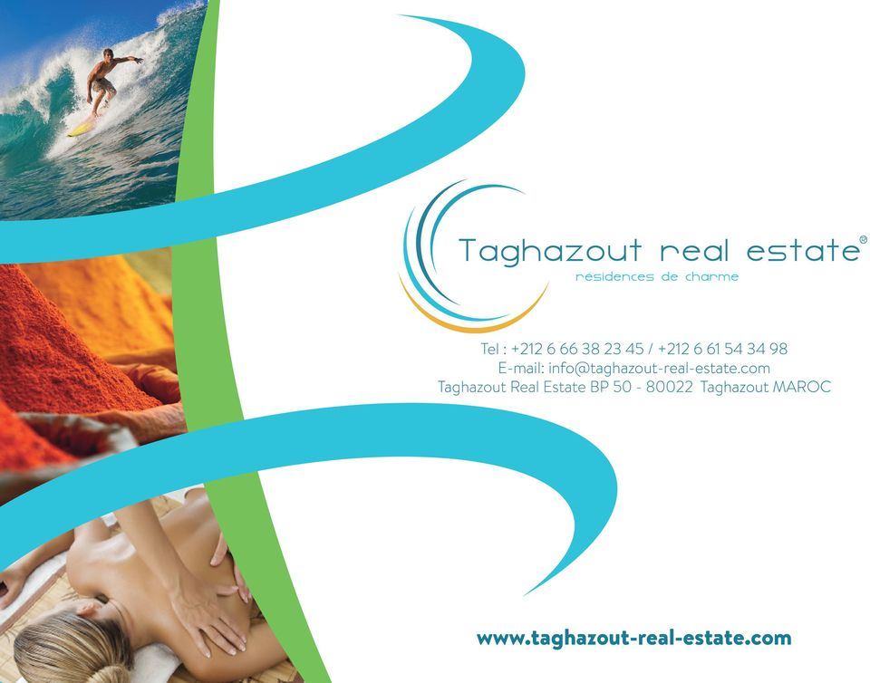 com Taghazout Real Estate BP 50-80022